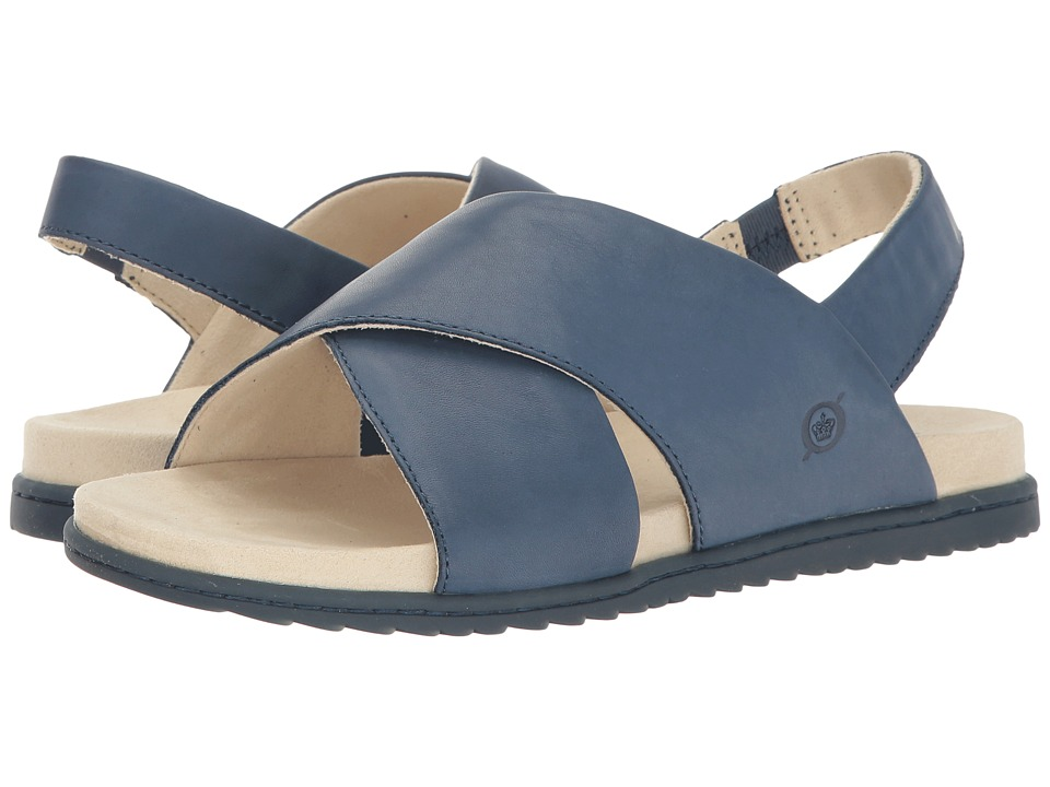 Born - Lima (Navy Full Grain) Womens Sandals