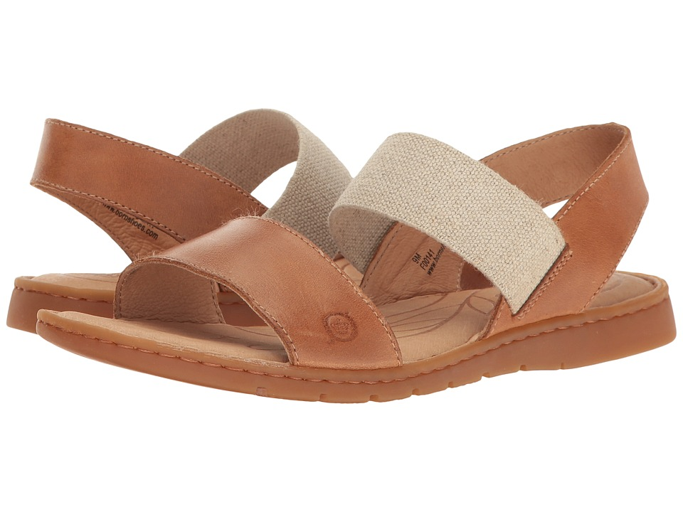 Born - Parson (Light Brown Full Grain) Women's Sandals