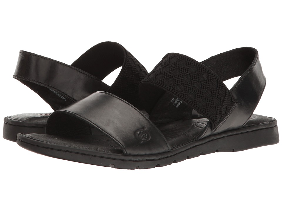 Born Parson (Black Full Grain) Sandals