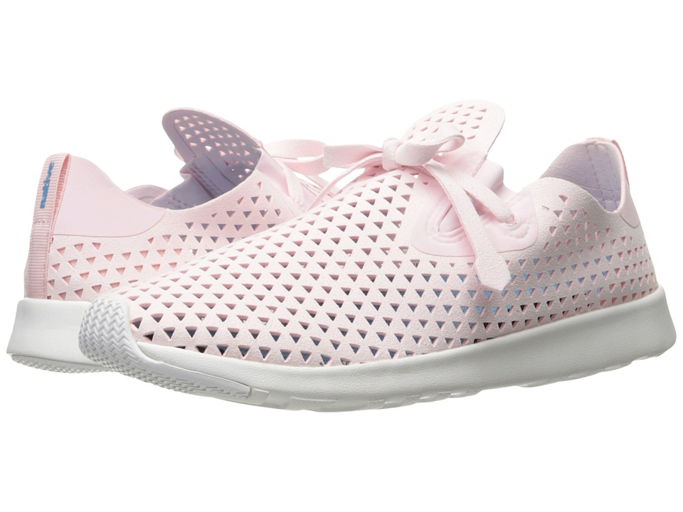 Native Shoes Apollo XL (Milk Pink/Shell White/Shell Rubber/Triangle) Lace up casual Shoes