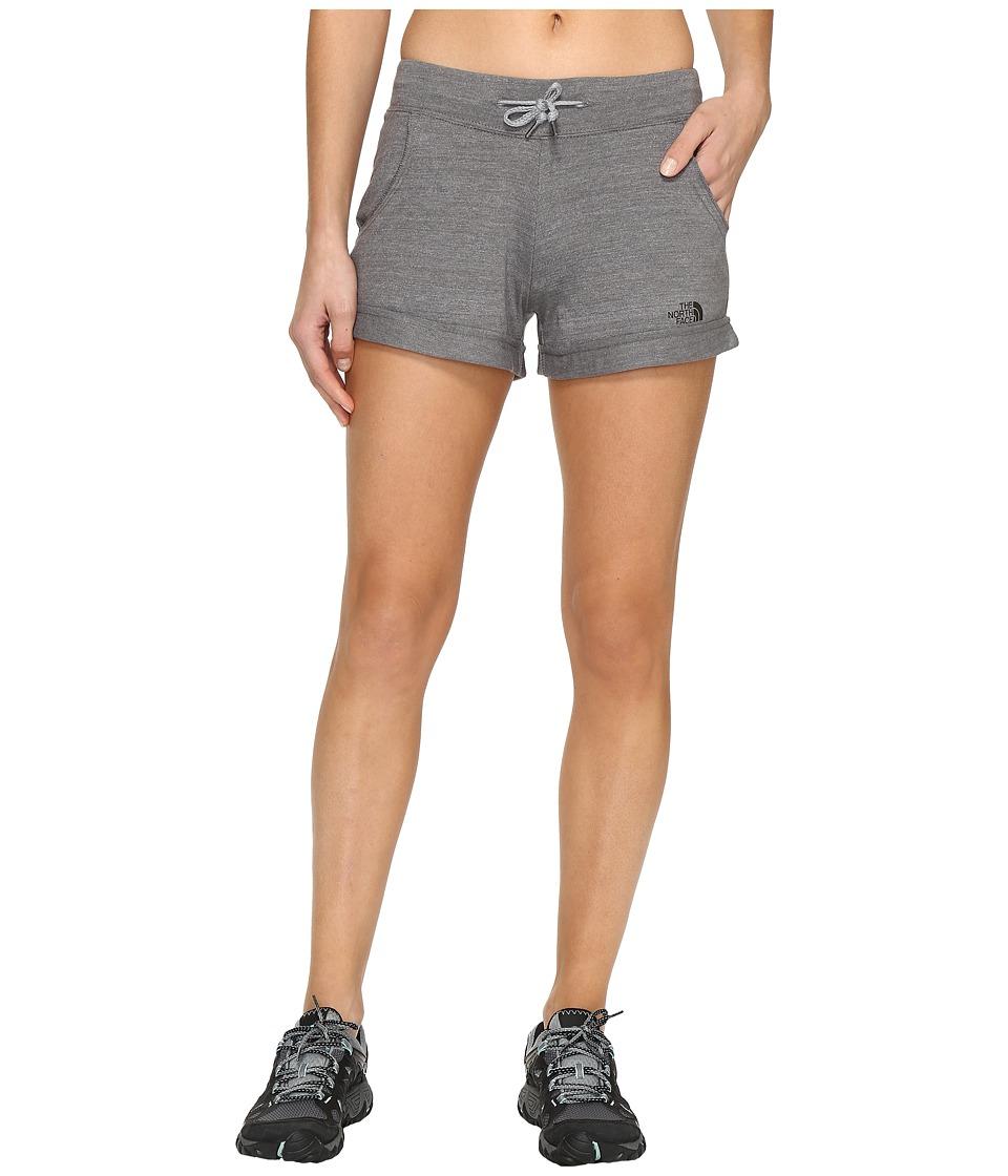 The North Face Tri-Blend Shorts (TNF Medium Grey Heather) Women