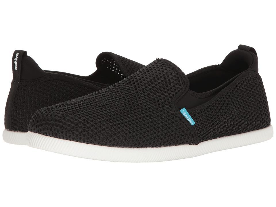 Native Shoes Cruz (Jiffy Black/Shell White) Athletic Shoes