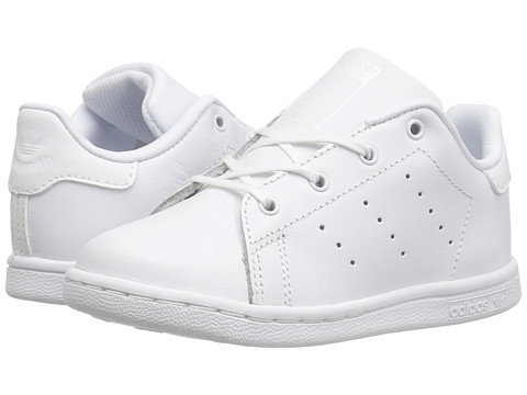 adidas Originals Kids Stan Smith (Toddler) - Footwear White/Footwear White/Footwear White