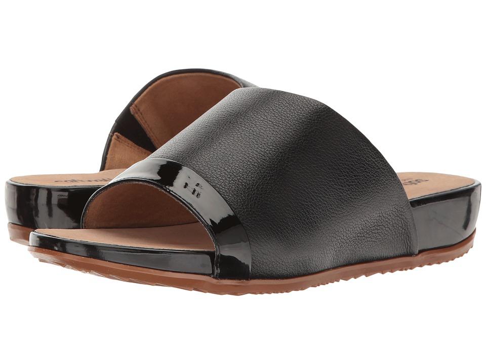 SoftWalk - Del Mar (Black/Black Patent) Women's Sandals
