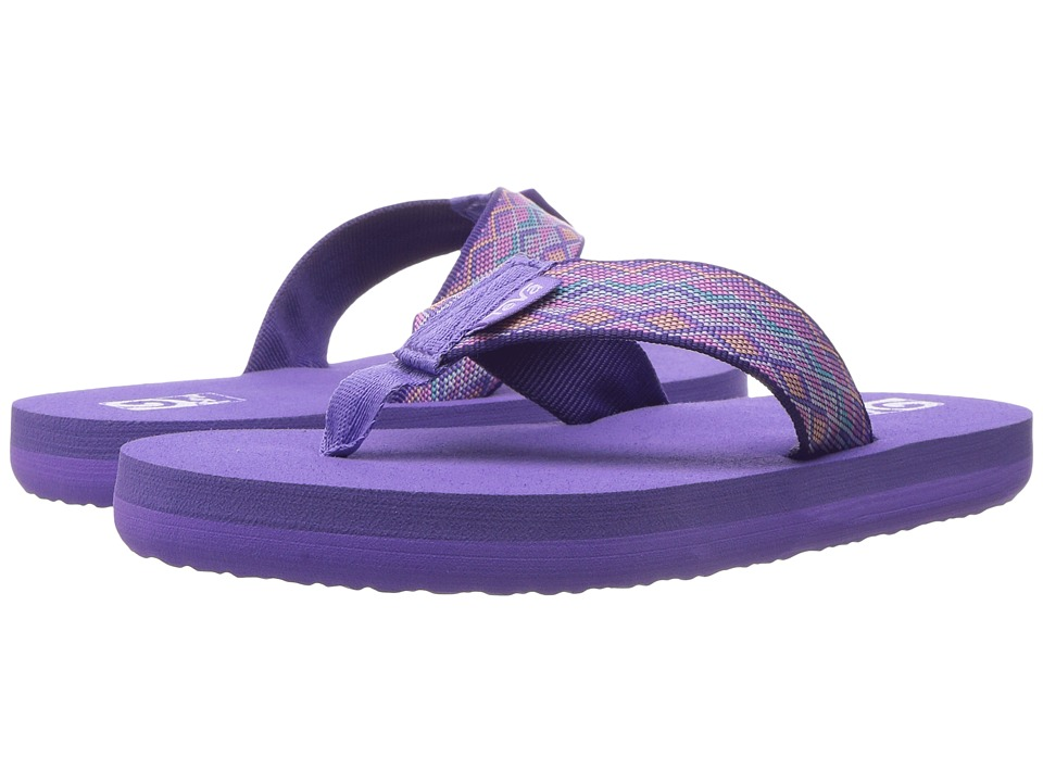 Teva Kids - Mush II (Little Kid/Big Kid) (Mirimar Purple Multi) Girls Shoes