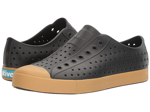 Native Shoes Jefferson - Jiffy Black/Gum Rubber