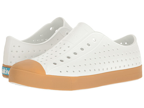Native Shoes Jefferson - Shell White/Gum Rubber
