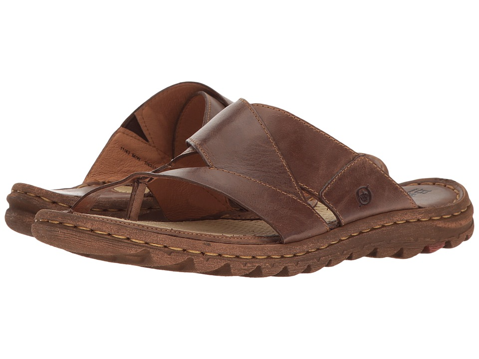 Born - Sorja (Dark Brown Full Grain) Women's Sandals