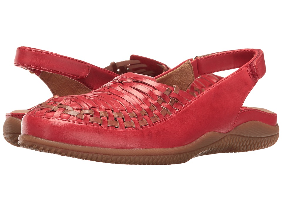 SoftWalk Harper (Red/Tan) Women