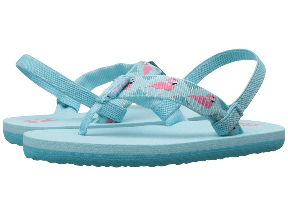 Teva Kids Mush II (Toddler) (Flamingo Scuba Blue) Girls Shoes