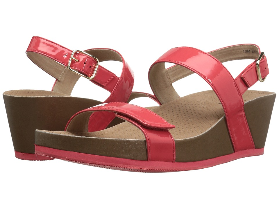 SoftWalk - Hart (Coral) Womens Wedge Shoes