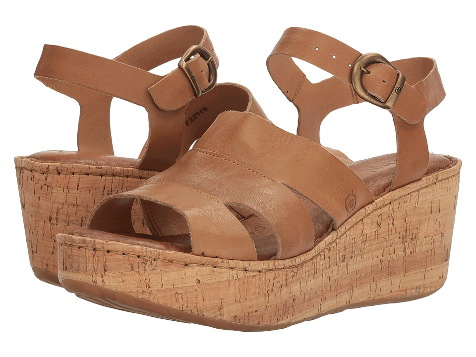 Born Anori (Tan Full Grain) Women