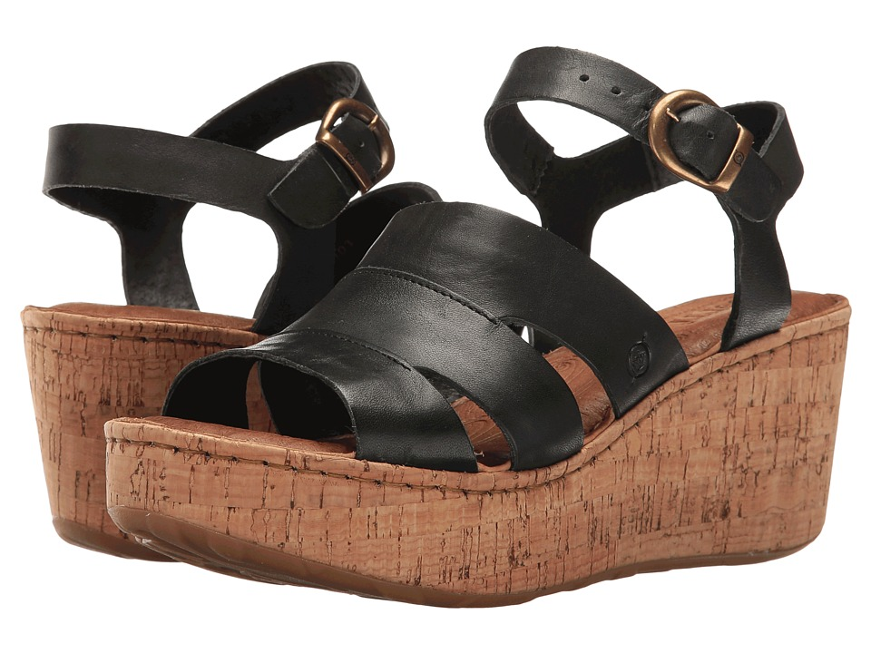 Born Anori (Black Full Grain) Women