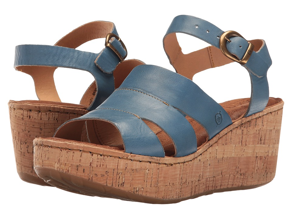 Born Anori (Blue Full Grain) Women