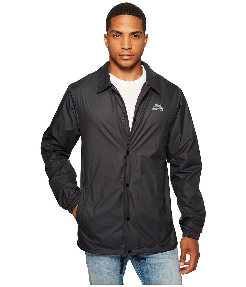 Nike SB - SB Shield Coaches Jacket (Black/Cool Grey) Mens Coat