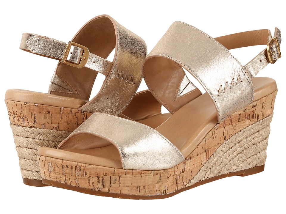UGG Elena Metallic (Gold) Women