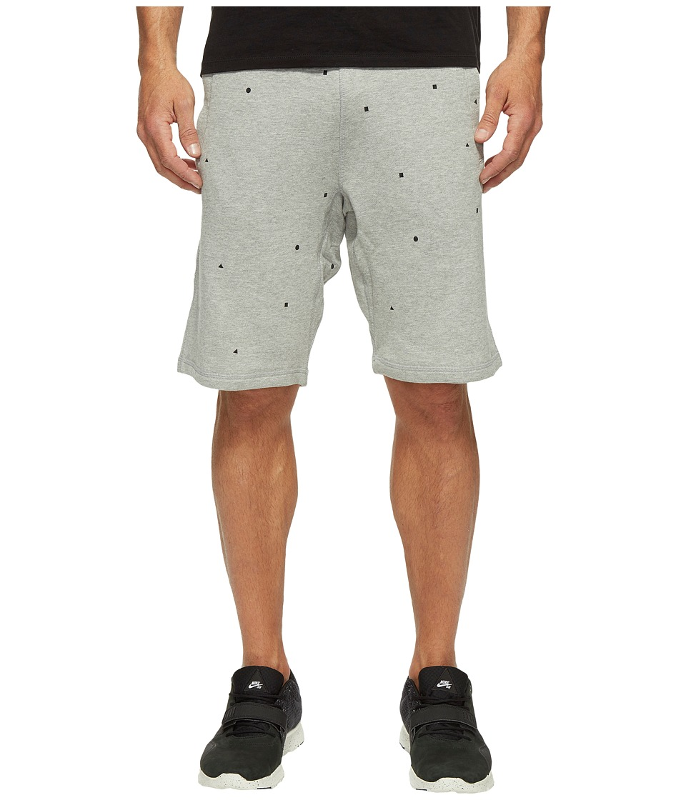 Nike SB SB Everett Geo Shorts (Dark Grey Heather) Men