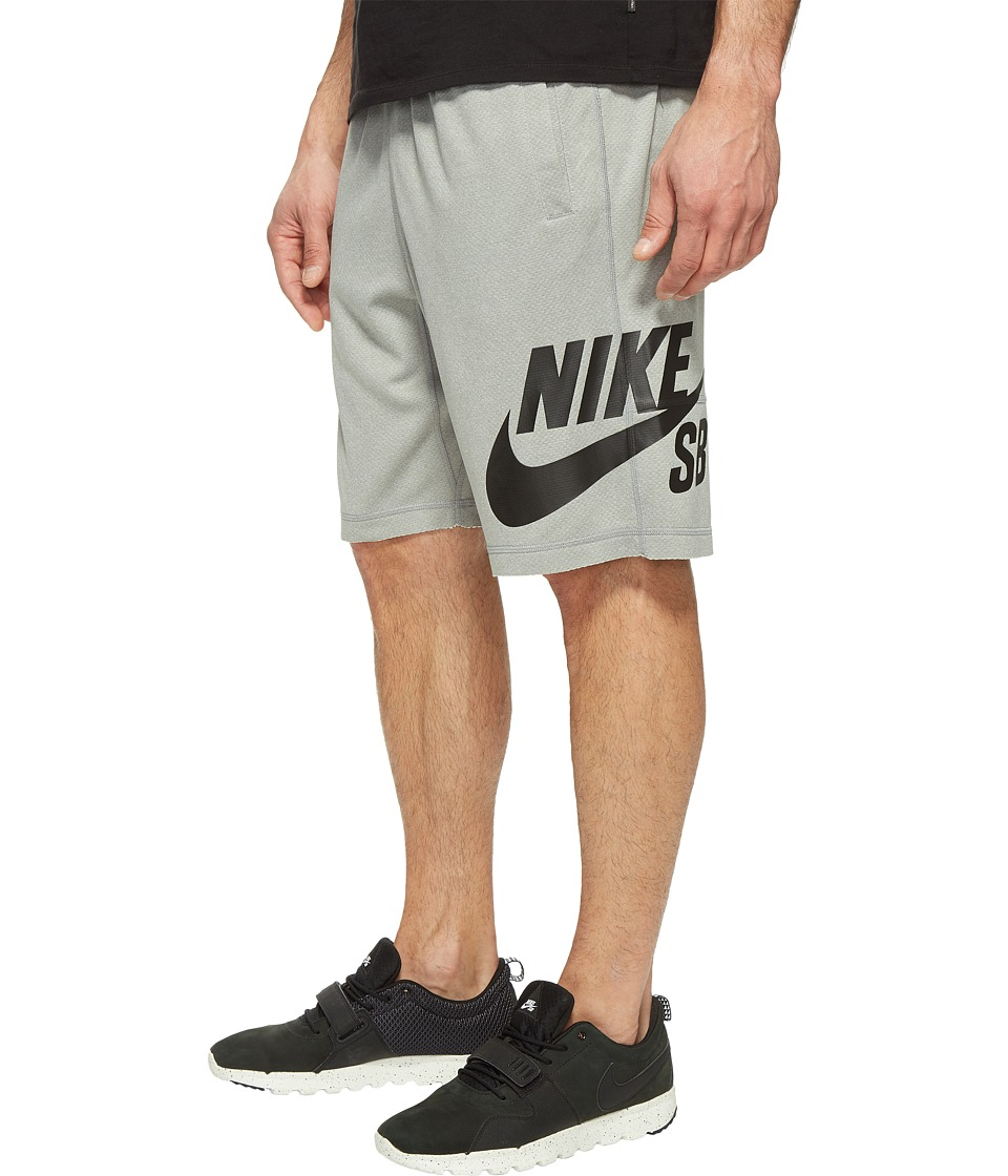 Nike SB SB Dry Sunday Jagmo Shorts (Dark Grey Heather/Black) Men
