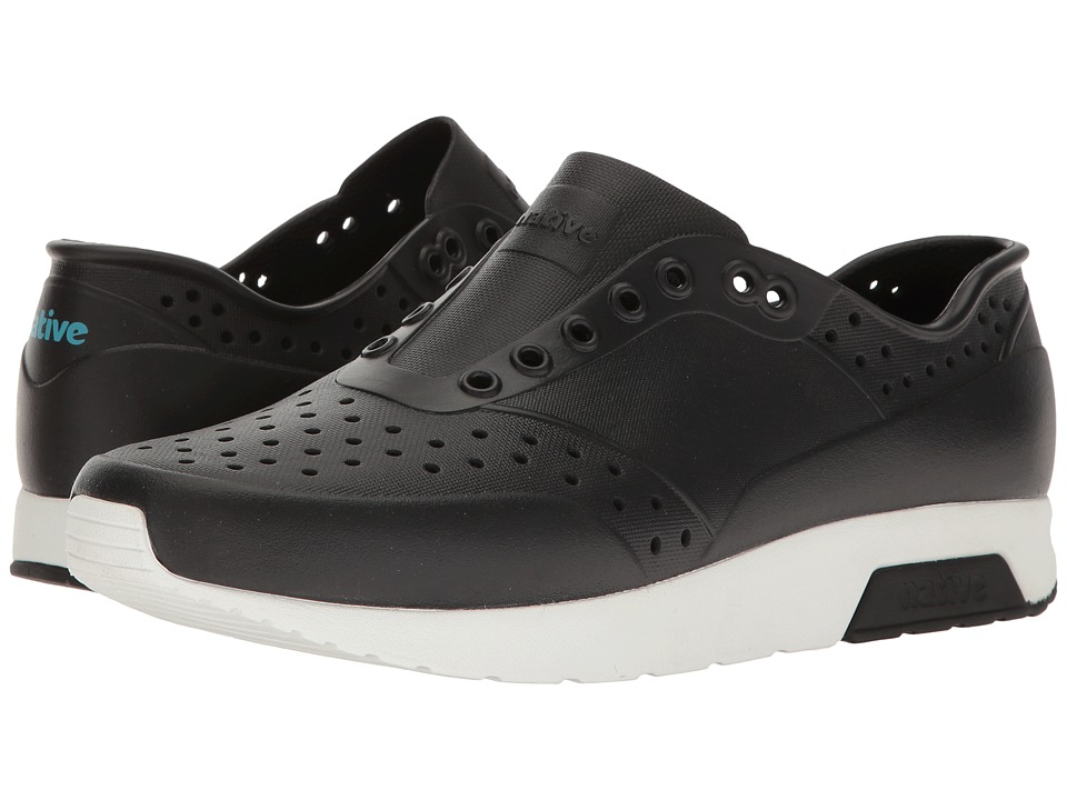 Native Shoes Lennox (Jiffy Black/Shell White) Athletic Shoes