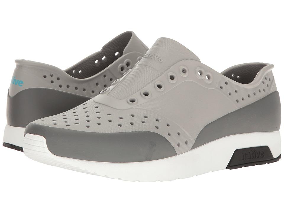 Native Shoes Lennox (Pigeon Grey/Shell White/Jiffy Black/Dublin Block) Athletic Shoes