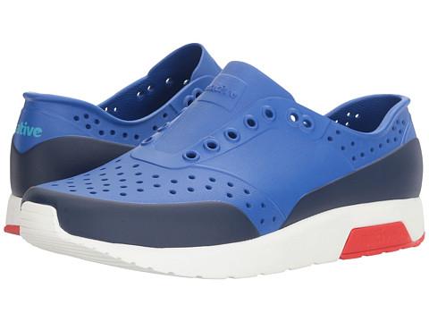 Native Shoes Lennox - UV Blue/Shell White/Torch Red/Regatta Block
