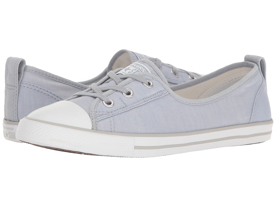 Converse Chuck Taylor All Star Ballet Lace Slip-On (Blue Granite/White/Mouse) Women