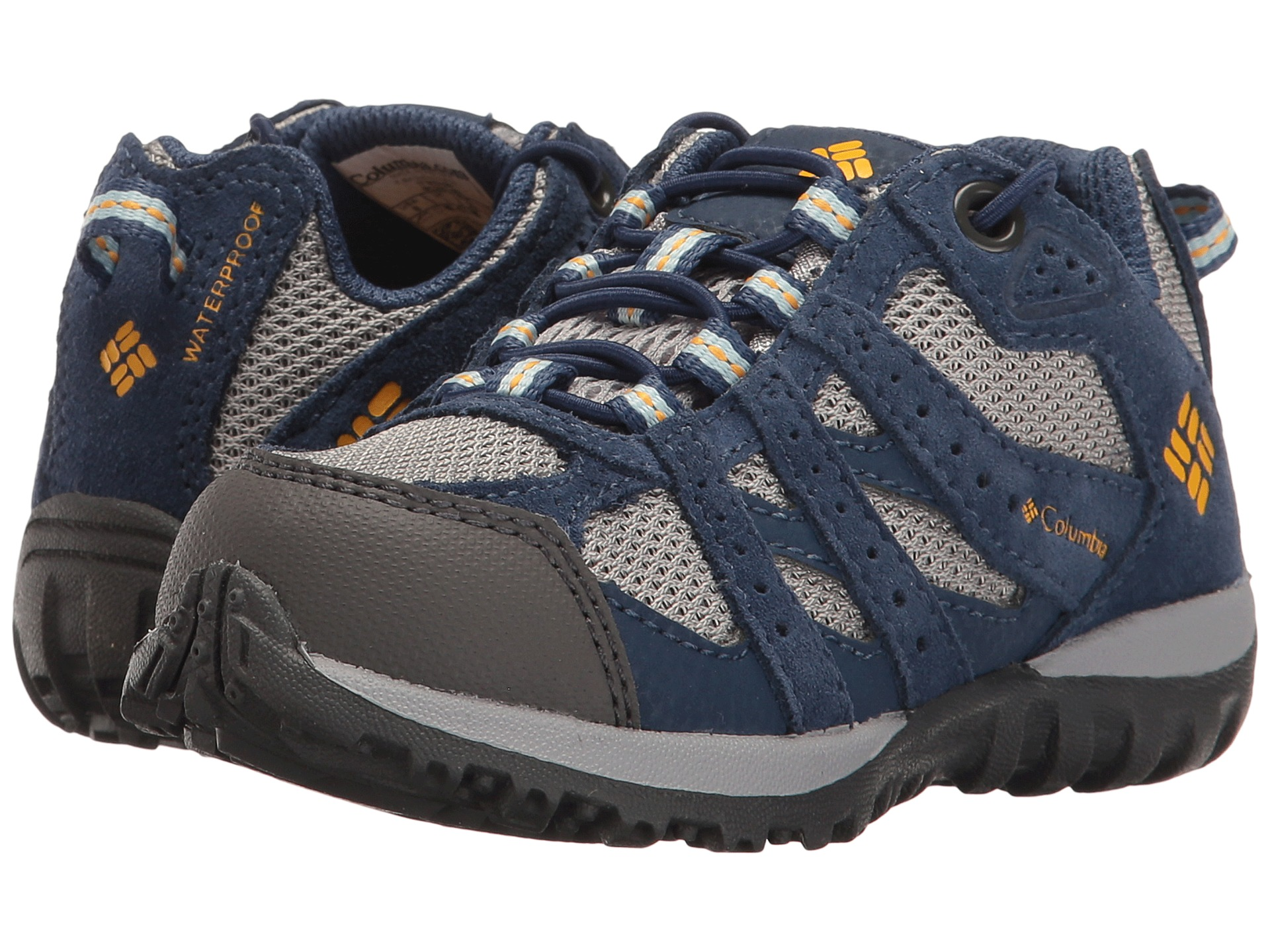 Columbia Redmond Explore Boys Waterproof Hiking Shoes Size