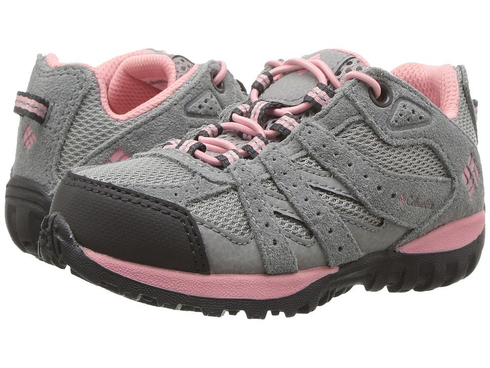 Columbia Kids Redmond (Toddler/Little Kid) (Steam/Rosewater) Girls Shoes
