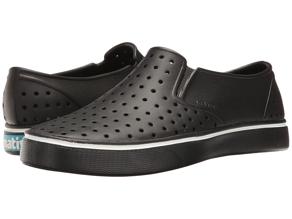 Native Shoes Miles (Jiffy Black/Jiffy Black) Athletic Shoes