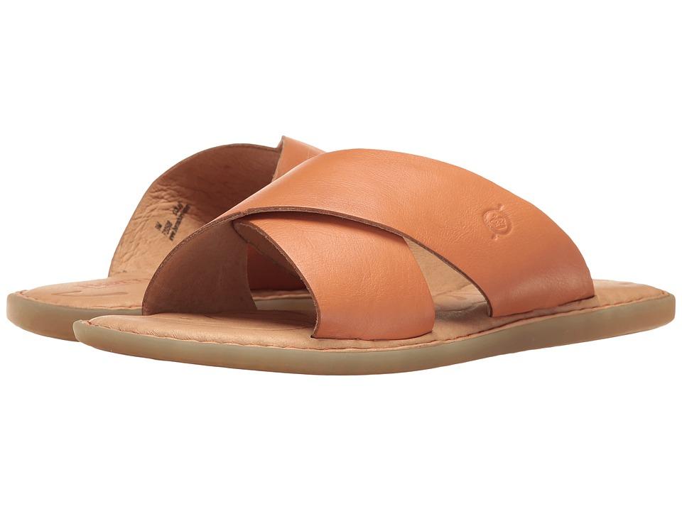 Born - Kula (Orange Full Grain) Womens Dress Sandals