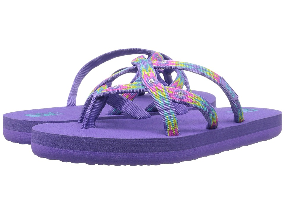 Teva Kids - Olowahu (Little Kid/Big Kid) (Pana Purple) Girls Shoes