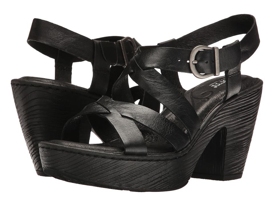 Born Greccia (Black Full Grain) Women