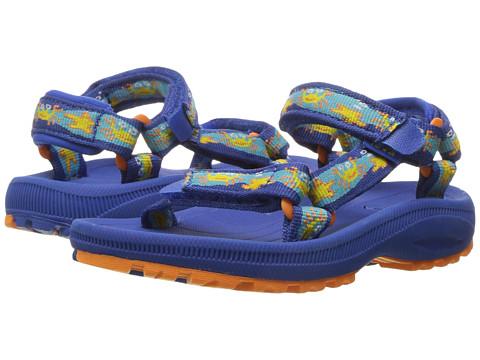 Teva Kids Hurricane 2 (Toddler) - Crazy Crabs Blue/Orange