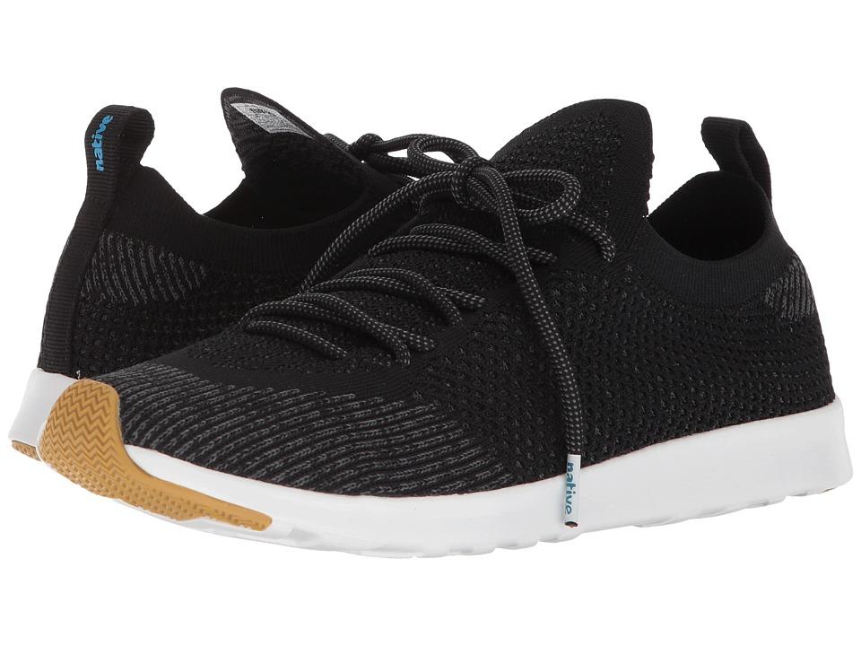 Native Shoes AP Mercury Liteknit (Jiffy Black/Shell White/Natural Rubber) Athletic Shoes