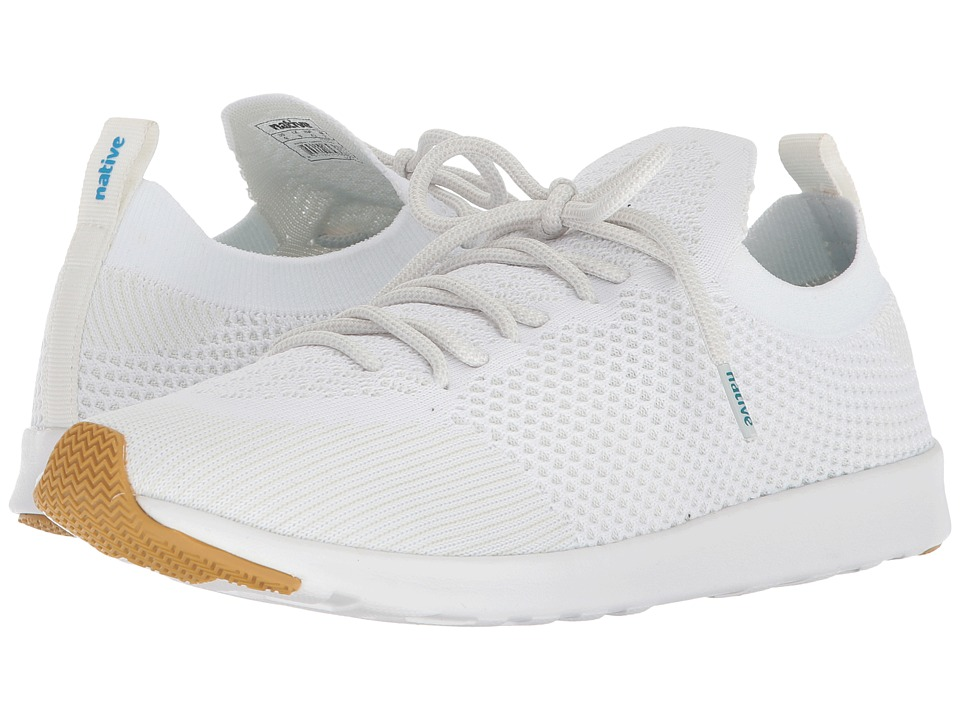 Native Shoes AP Mercury Liteknit (Shell White/Shell White/Natural Rubber) Athletic Shoes