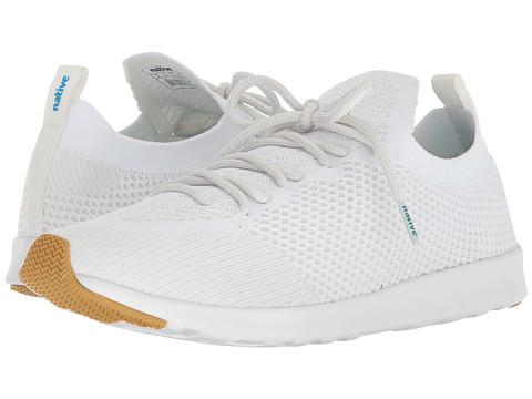 Native Shoes AP Mercury Liteknit - Shell White/Shell White/Natural Rubber