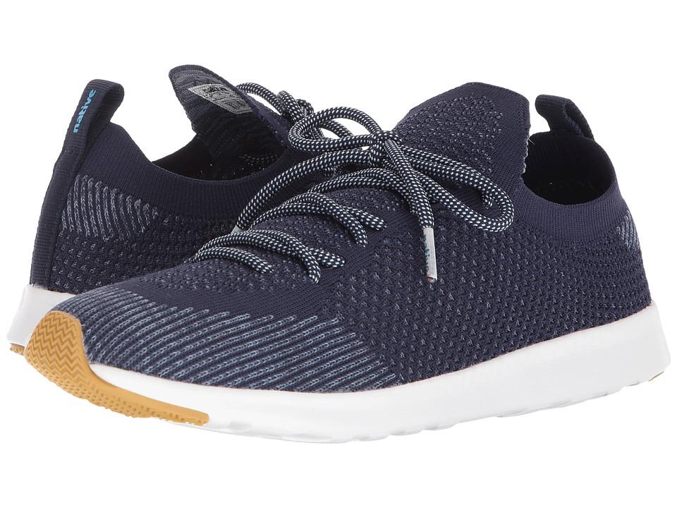 Native Shoes AP Mercury Liteknit (Regatta Blue/Shell White/Natural Rubber) Athletic Shoes