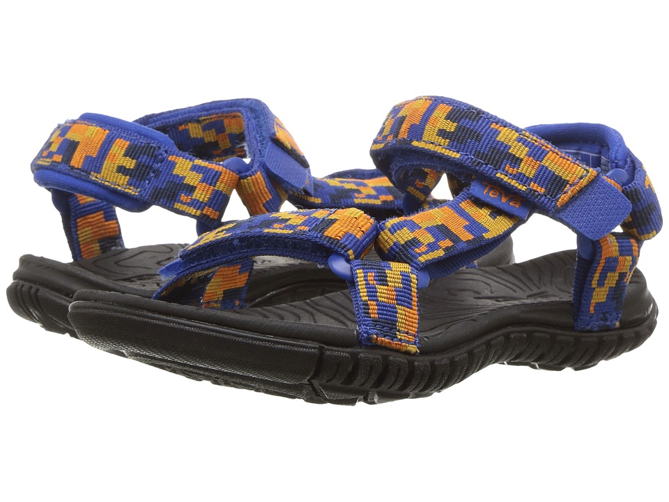 Teva Kids - Hurricane 3 (Toddler) (Digital Camo Orange/Blue) Boys Shoes