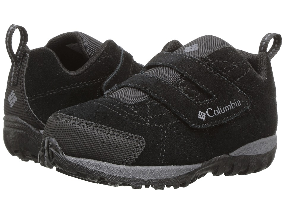 Columbia Kids Venture (Toddler/Little Kid) (Black/Graphite) Kids Shoes
