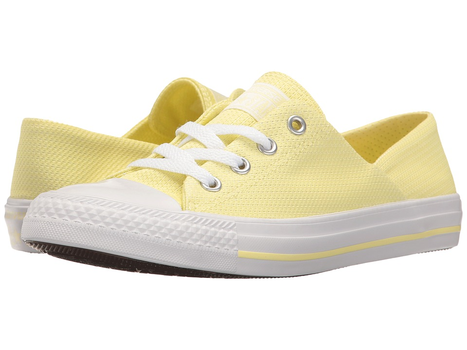 Converse Chuck Taylor All Star Coral Micro Dot Ox (Lemon Haze/Lemon Haze/White) Women