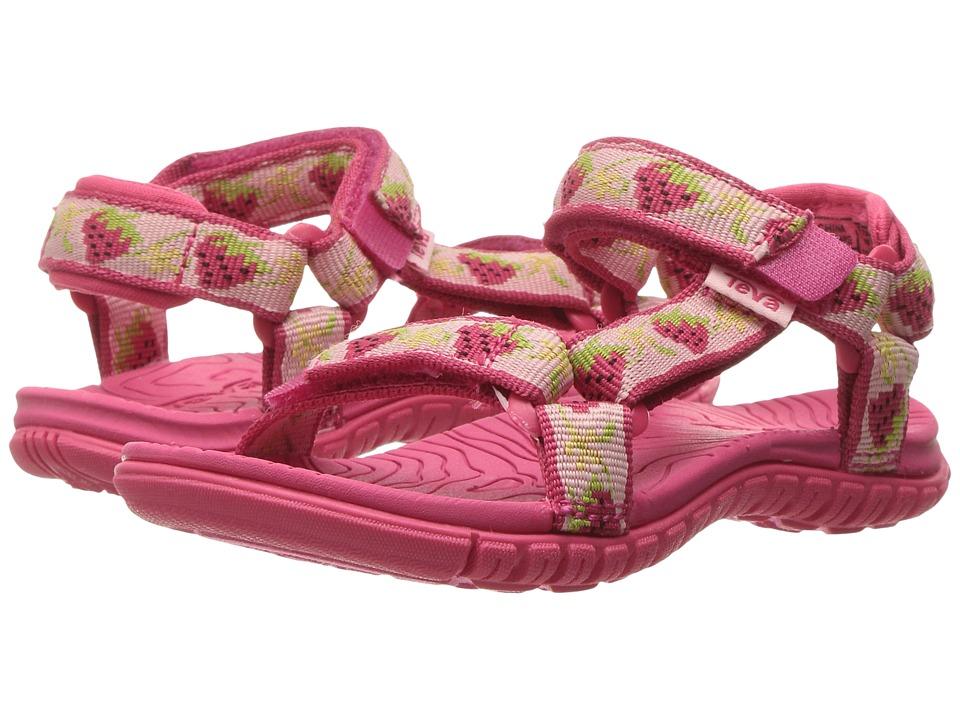 Teva Kids - Hurricane 3 (Toddler) (Strawberry Pink) Girls Shoes