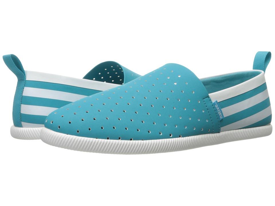 Native Shoes Venice (Iris Blue/Shell White/Shell Stripe) Shoes