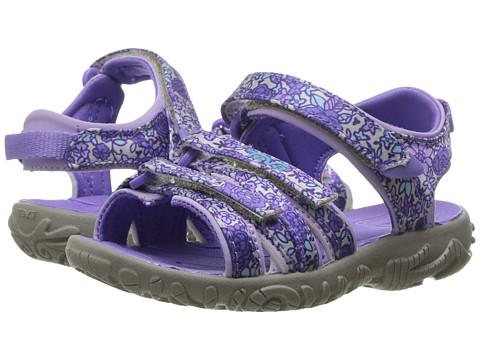 Teva Kids Tirra Floral (Toddler/Little Kid) - Purple Floral