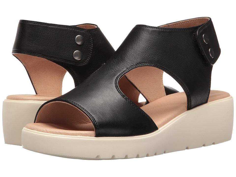 Johnston  +  Murphy - Camilla (Black Italian Soft Leather) Women's Sandals