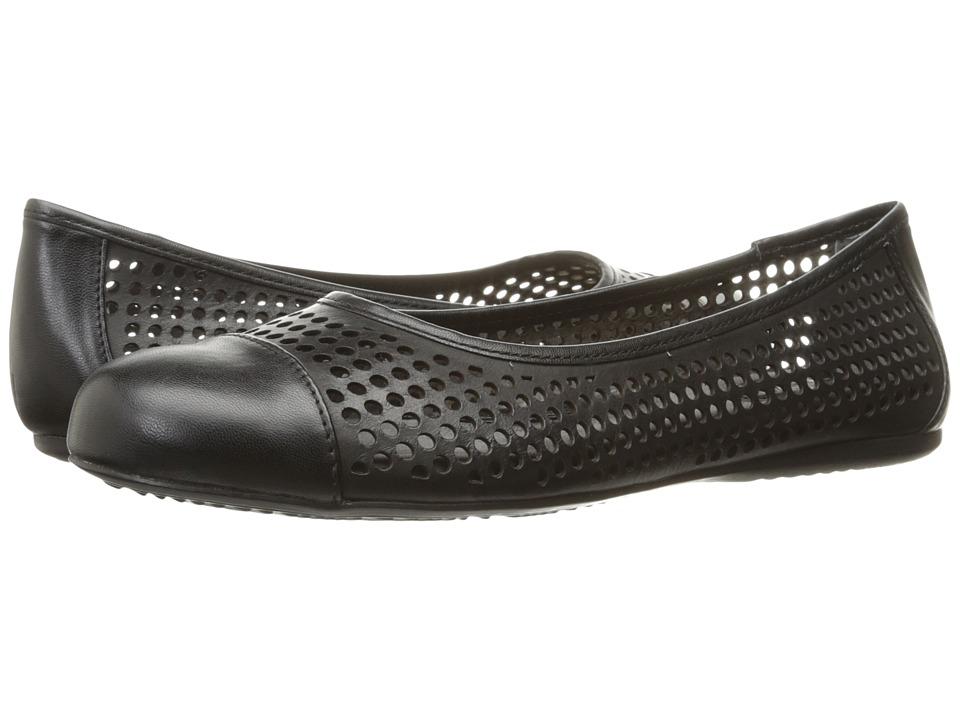 SoftWalk Napa (Black Soft Laser Leather) Women