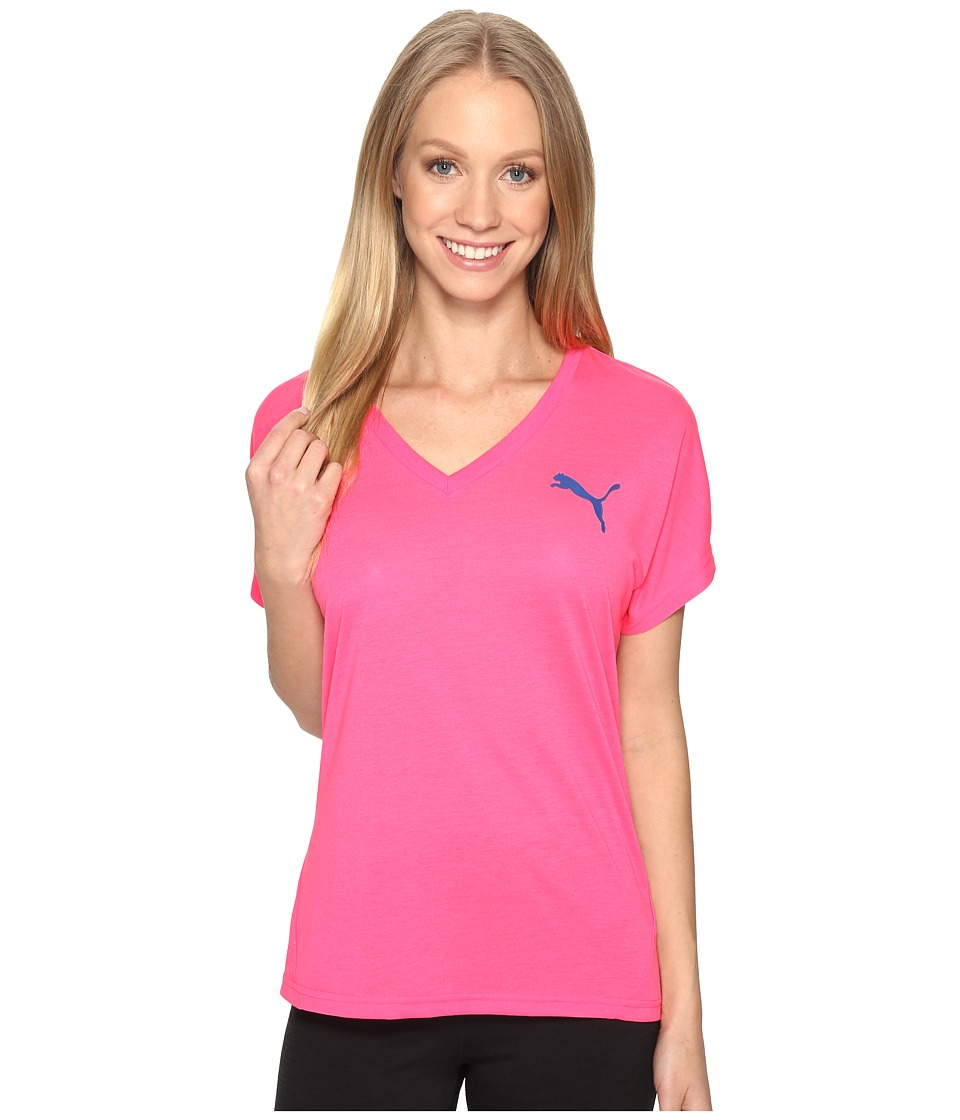 PUMA Elevated Sporty Tee (Knockout Pink) Women