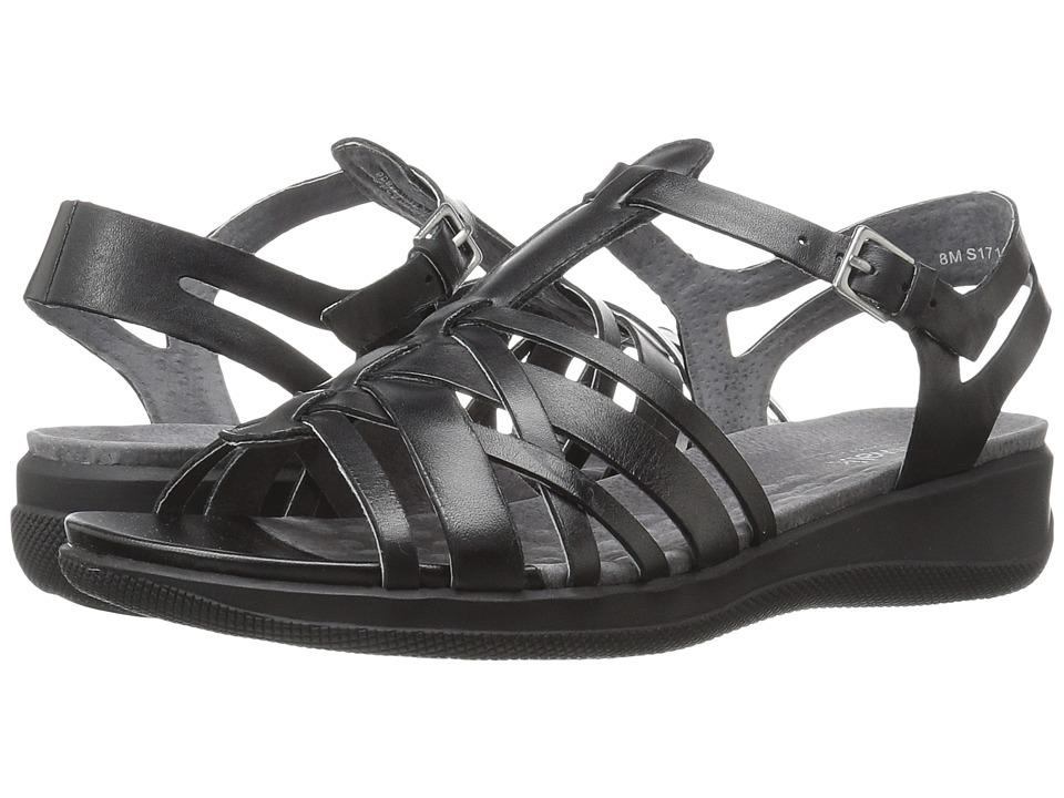 SoftWalk - Taft (Black) Women's Sandals