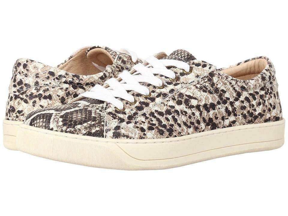 Johnston & Murphy Emerson Sneaker (Natural Snake Print Italian Leather) Women