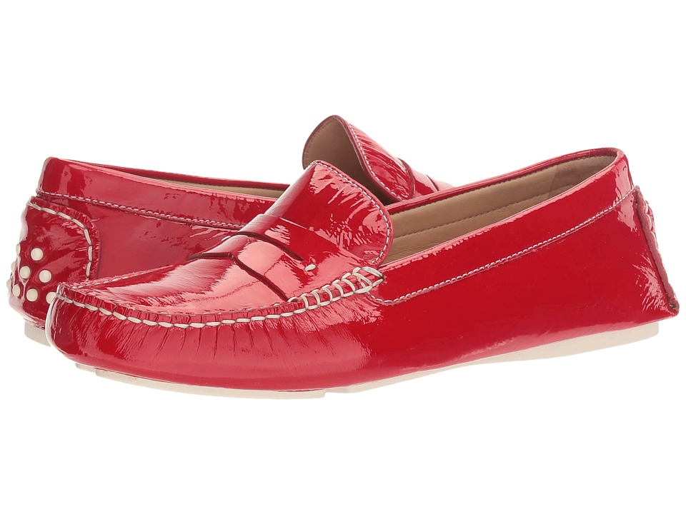 Johnston & Murphy Maggie Penny (Red Italian Soft Patent Leather) Women