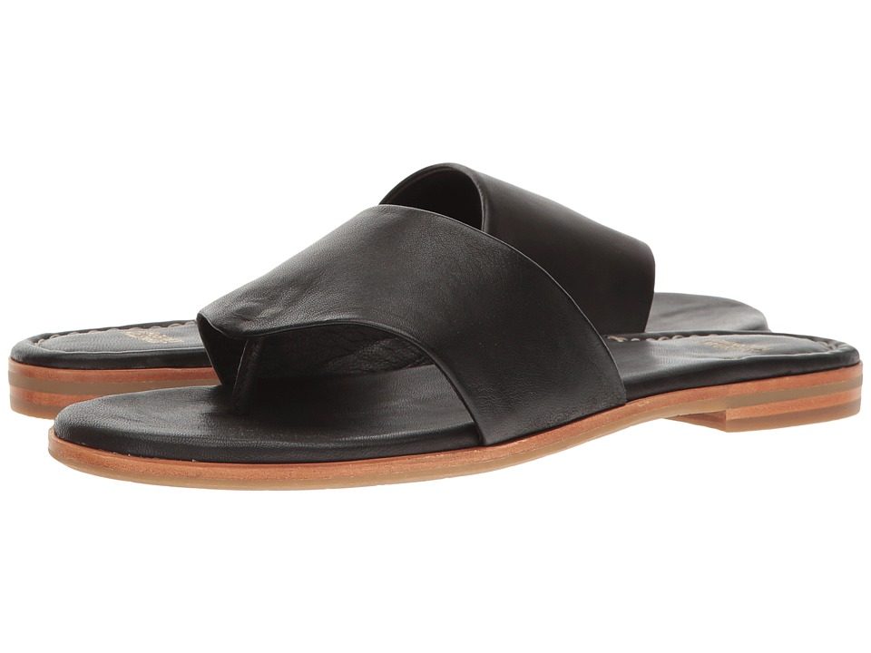 Johnston & Murphy Raney (Black Glove Leather) Sandals
